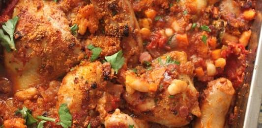 Pork Cassoulet Recipe — Dishmaps