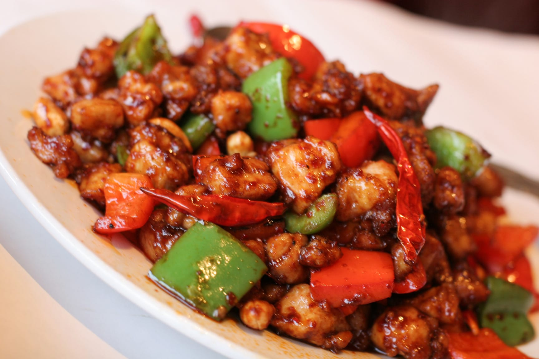Delicious Kung Pao Chicken Recipe - deliciousworldrecipe